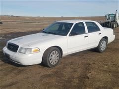 2006 Ford Crown Victoria Police 4 Door Sedan