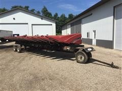 2008 Case IH 2412 12-Row Corn Head & Cart