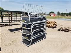 Behlen Galvanized Cattle Bunks & Hay Rack