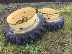 Rim Clamp Duals W/13.6-38 Tires