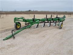 John Deere 3600 6 Bottom Plow With Wako Harrow