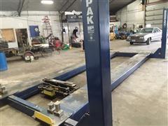 2014 Bendpak HDS-27 4 Post Truck Lift