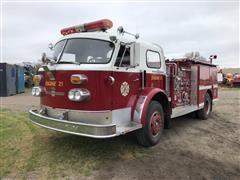 1971 American LaFrance Fire Truck