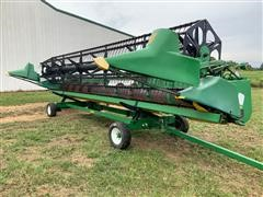 1998 John Deere 925 Header & Trailer