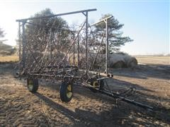 Fuerst Harrow With Transport Cart