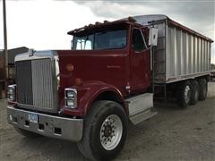 1991 International 9300 Tri/A Grain Truck