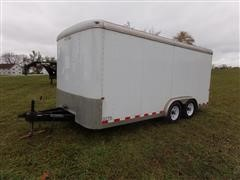 2010 Doolittle 8x16 T/A Enclosed Trailer