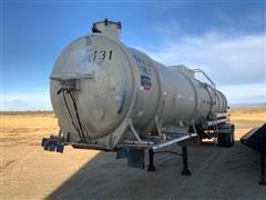 1981 Trailman 6000 Gallon T/A Steel Tanker Trailer