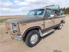 1984 Ford F250 XL 2WD Pickup W/Used Oil Recovery System