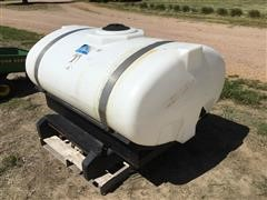 J D Skiles Front Mount 300-Gallon Fertilizer Tank