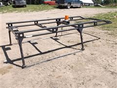 Adrian Load Runner Pickup Top Rack Steel Pipe Over Head Carrier