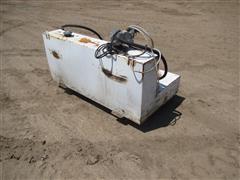 Delta 480000 L Shape Steel Liquid Transfer Tank