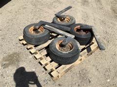Cultivator Bar Gauge Wheels