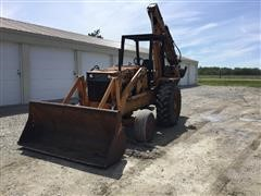 Case 680E 2WD Loader Backhoe