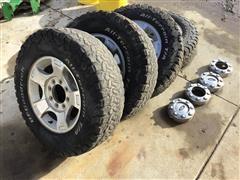 2011 Ford F-250 Tires & Aluminum Rims