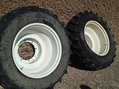 350/85R34 Front Duals For New Holland T7 Tractor