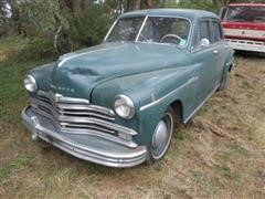 1949 Plymouth P18 4 Door Sedan Coupe