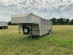 1988 Wilson T/A Aluminum Livestock Trailer