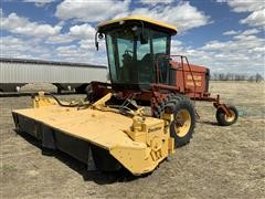 1999 New Holland HW340 Self-Propelled Windrower