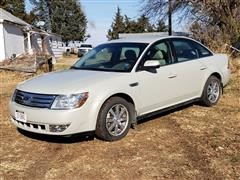 2008 Ford Taurus SEL 4 Door Sedan Car