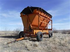 Richardton 1400 Side Dump Forage Wagon
