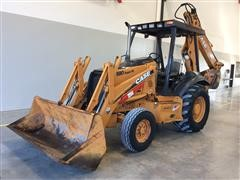 2005 Case 580 Super M Series-2 2WD Loader Backhoe