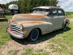 1948 Chevrolet Fleetline 4 Door Car