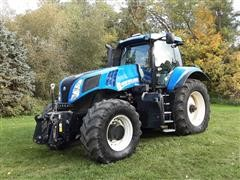 2011 New Holland T8.330 MFWD Tractor
