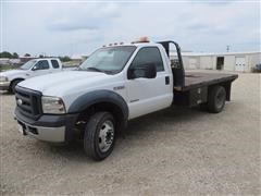 2007 Ford F550 Dually Flatbed