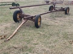 Shop Built 21' Header Trailer