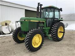 1992 John Deere 4455 MFWD Tractor