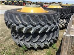 CLAAS Lexion Tires & Rims, 520/85R42 Goodyear Ultratorque