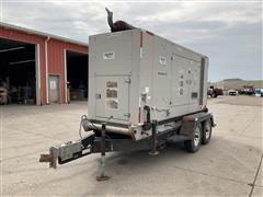 2005 AltaStream APEX NSE-100 100KW Propane/Natural Gas Generator & T/A Trailer