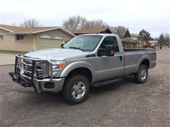 2012 Ford F250 XLT Super Duty 4x4 Pickup