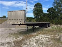 1998 Transcraft Eagle T/A Flatbed Trailer