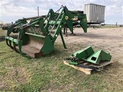 John Deere 640 Self Leveling Tractor Loader Attachment