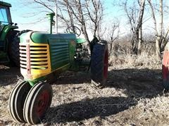 1948 Oliver Row Crop 88 Gas 2WD Tractor