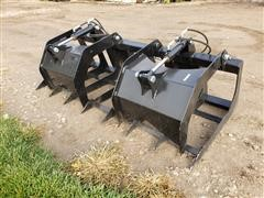2019 Brute Root/Brush Grapple Skid Steer Attachment