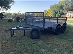 Heavy Duty Shop-Built T/A Utility Trailer