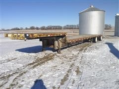 1995 Fontaine T/A Drop Deck Flatbed Trailer