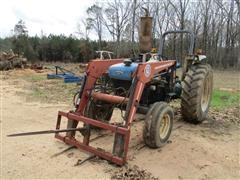 1997 Ford 4630 2WD Tractor W/Loader