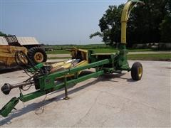 John Deere 3960 3 Row Narrow Pull Type Forage Harvester