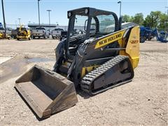 2014 New Holland C227 Compact Track Loader