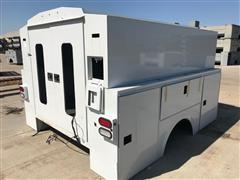 """2015 Omaha Standard-Palfinger 108D54V-High Roof 54"""" Utility Truck Body"""
