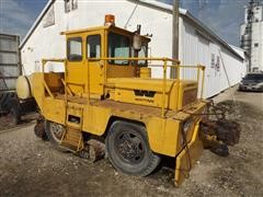 Whiting Trackmobile Railroad Car Shuttle Vehicle