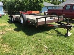 2000 H&H T/A Flatbed Trailer