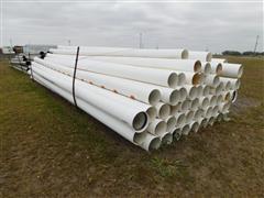 Plastic Irrigation Gated Pipe