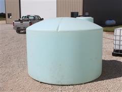 1550-Gal Poly Flat Bottom Tank