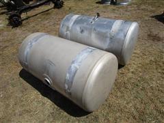 1990 Peterbilt 100-Gal Aluminum Fuel Tanks