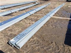 """Behlen Mfg 8"""" Wide Galvanized Steel Purlin"""